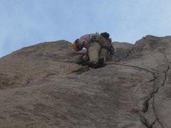Rock Climbing Photo: sailing!