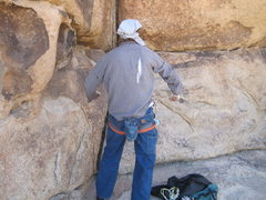 Rock Climbing Photo: you wouldn't like me when i am angry.