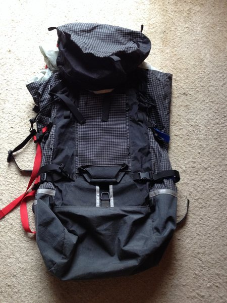 Rock Climbing Photo: 60L Cilogear pack