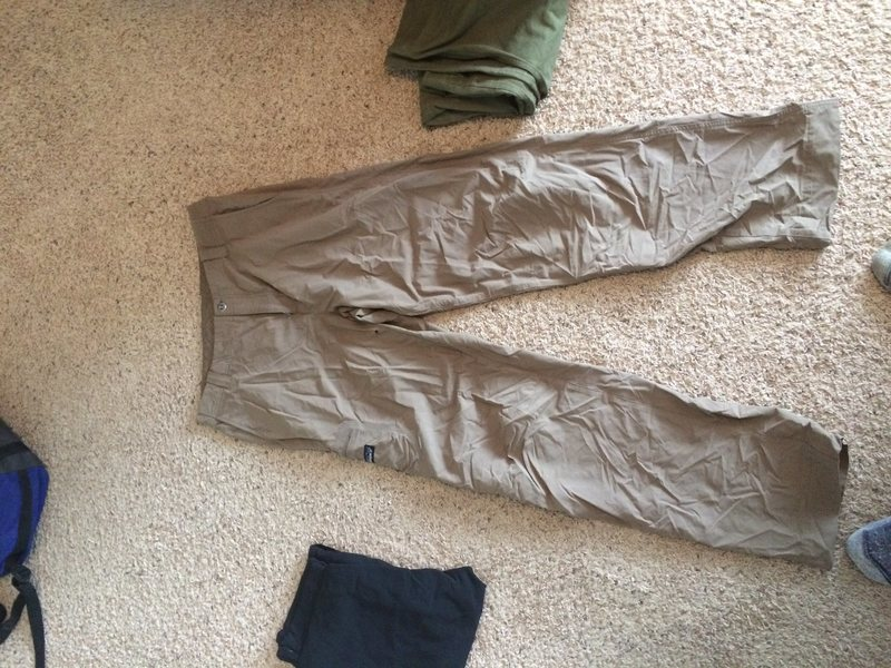 Rock Climbing Photo: Patagonia pants. 34x32, $20