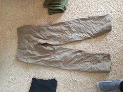 Rock Climbing Photo: Back of Patagonia pants