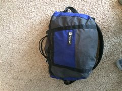 Rock Climbing Photo: Rope bag