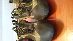 Rock Climbing Photo: Miura front. Could probably use a resole :)