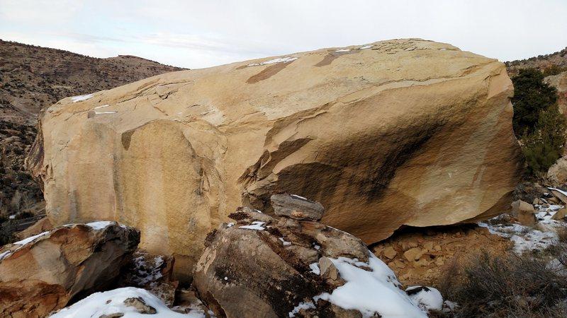 Rock Climbing Photo: The south face of Conception.