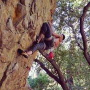 Rock Climbing Photo: Having fun in the Salt Lake Slips