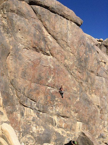 Alabama hills, new climb