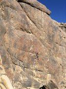 "Rock Climbing Photo: Alabama hills, ""World Painted Blood"" 511..."
