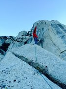 Rock Climbing Photo: Cumbre!