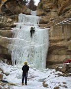 Rock Climbing Photo: CCC Falls 12.20.15