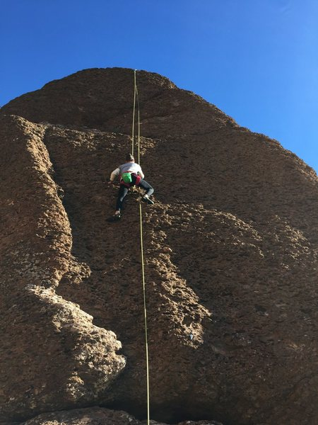 Josh working his way up.