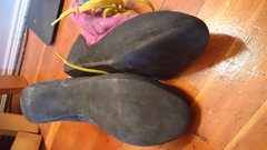 Rock Climbing Photo: High tops bottom and side