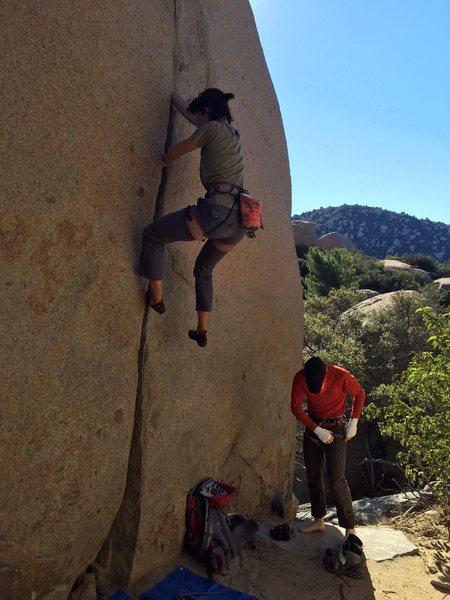 Rock Climbing Photo: brouldering braj