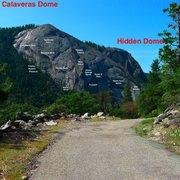 Rock Climbing Photo: Over View Of Calaveras Dome.