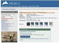 Rock Climbing Photo: To focus on a particular type of climbing (e.g., b...