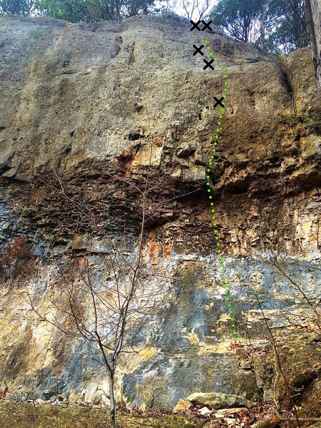 Rock Climbing Photo: Recovery