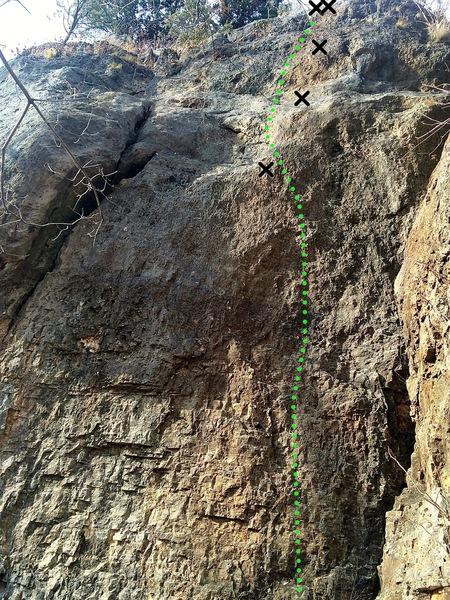 Rock Climbing Photo: Onlooker