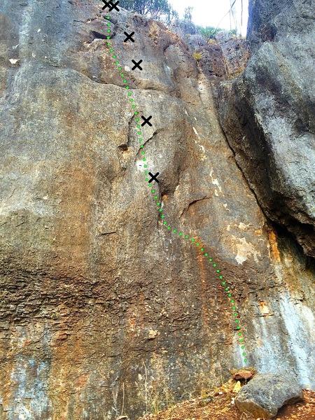 Rock Climbing Photo: Hittin the Vein
