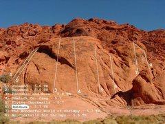 Rock Climbing Photo: cowlick crag