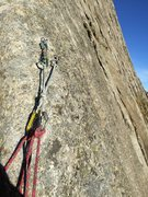 Rock Climbing Photo: Bolted anchors on this climb