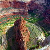 Looking down from the top of Angel's Landing<br> Read more - http://www.timetoclimb.com/hiking/hiking-angels-landing/