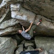 Rock Climbing Photo: Budda V7 first time at the gunks