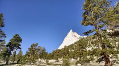 Rock Climbing Photo: Cathedral Peak in all her glory.