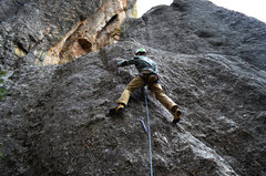 Rock Climbing Photo: Sport Lead