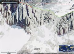 Rock Climbing Photo: gannett peak w sl 1
