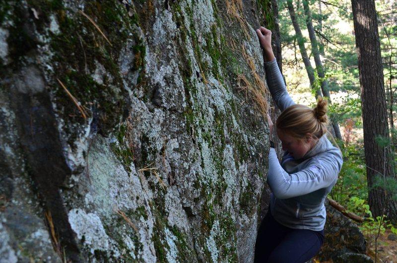 Rock Climbing Photo: Tiny Bubbles