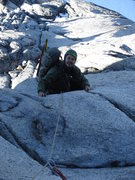 Rock Climbing Photo: Pitch 6 or 7.