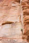 Rock Climbing Photo: J.Snyder on P2, Winter 2014