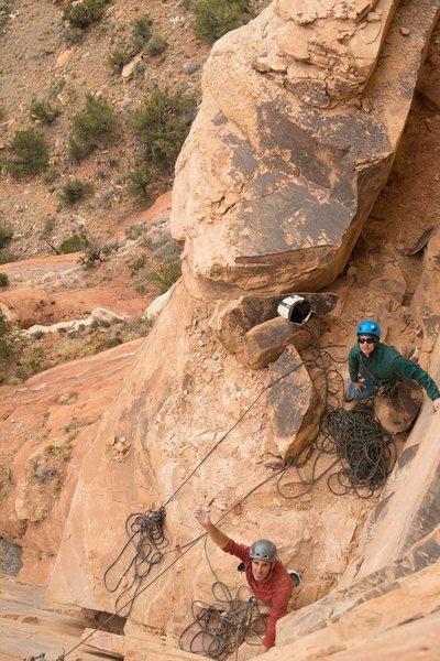 Rock Climbing Photo: Lux. Ledge on Winter Sun