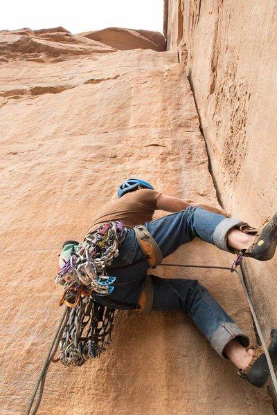 Rock Climbing Photo: Z.Harrison driving a Golden Lexus