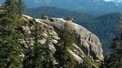 Rock Climbing Photo: The Doodle on top of Shangri-La