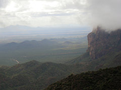 Rock Climbing Photo: Dutchman's Trail, Peralta TH and Dacite Cliffs fro...