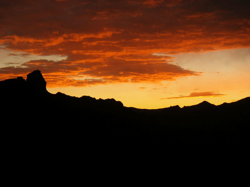 Rock Climbing Photo: Miners Needle sunrise.