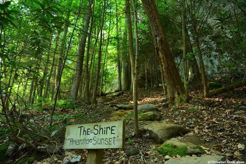 The Shire in Red River Gorge
