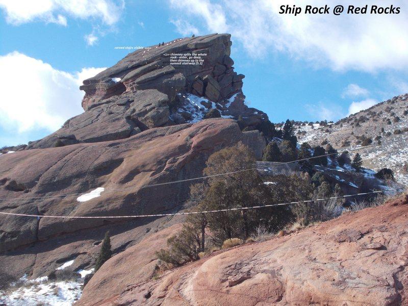 Shiprock - North Side.