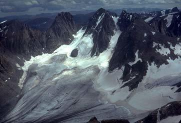 Rock Climbing Photo: Dinwoody Glacier, photo by University of Oregon
