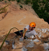 Rock Climbing Photo: Marc Vilaplana arriving at the start of the overhu...