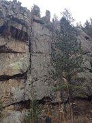 Rock Climbing Photo: Pine Vu 5.7