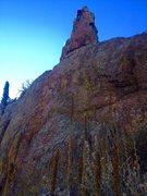 Rock Climbing Photo: Orange you glad