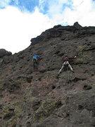 Rock Climbing Photo: Throne at left