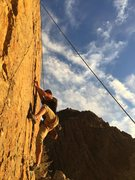 Rock Climbing Photo: Top rope