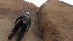 Rock Climbing Photo: John Shippling on N.S.T. B.