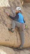 Rock Climbing Photo: K.C. on N.S.T.B.