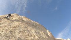 Rock Climbing Photo: A.G. on Cuddlebone