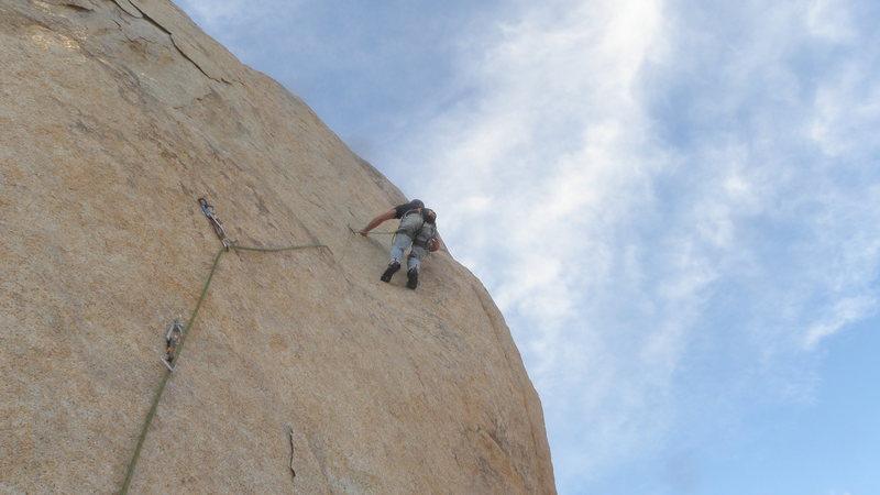 Rock Climbing Photo: A.G. on T.B.H.