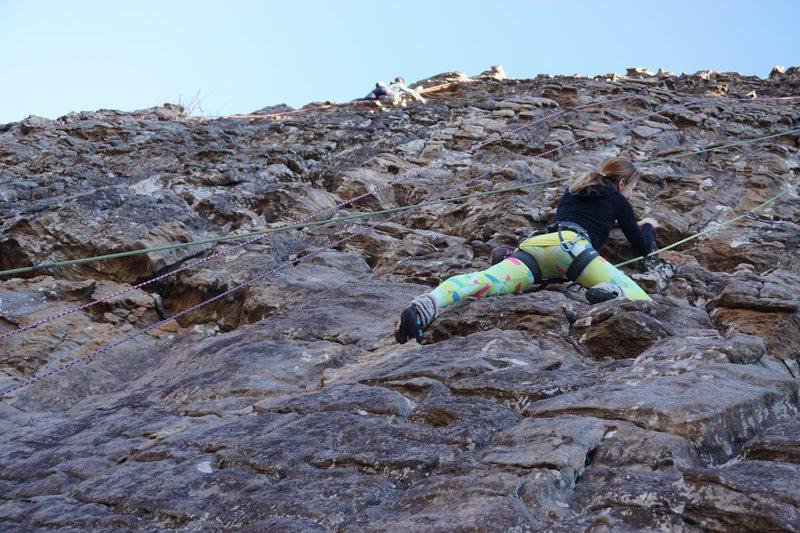 Cliffs of Insanity at Horseshoe Canyon Ranch