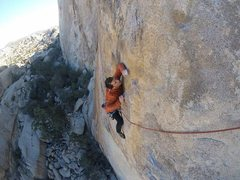 Rock Climbing Photo: Lower traverse